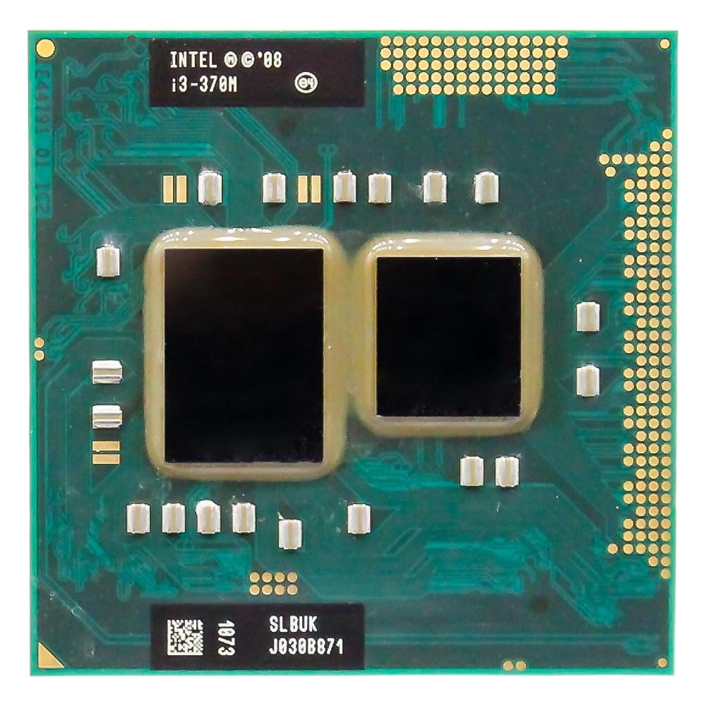 Lntel Core I3 370M 2.40GHz Dual-Core Processor PGA988 Mobile CPU Laptop Processor