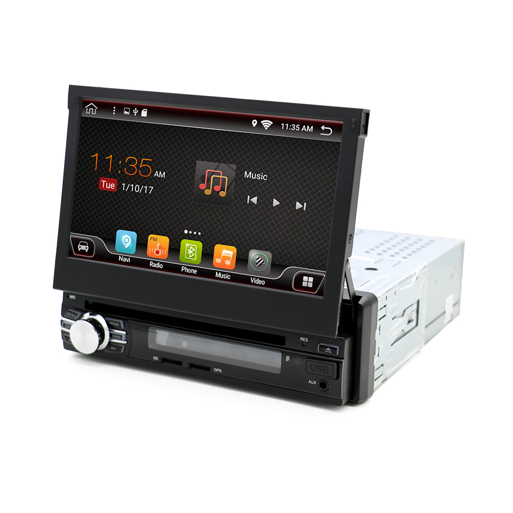 "2GB + 16GB Bosion 7 ""Car Stereo DVD Autoradio Navigare GPS pentru Universal Single 1 Din Android 6.0 Quad Core 1024 * 600 Head Unit"