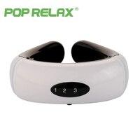 POP RELAX masseur pour le cou Sans Fil électrique Stimulation Musculaire Cervicale se détendre thérapie instrument cou soulagement de la douleur massage
