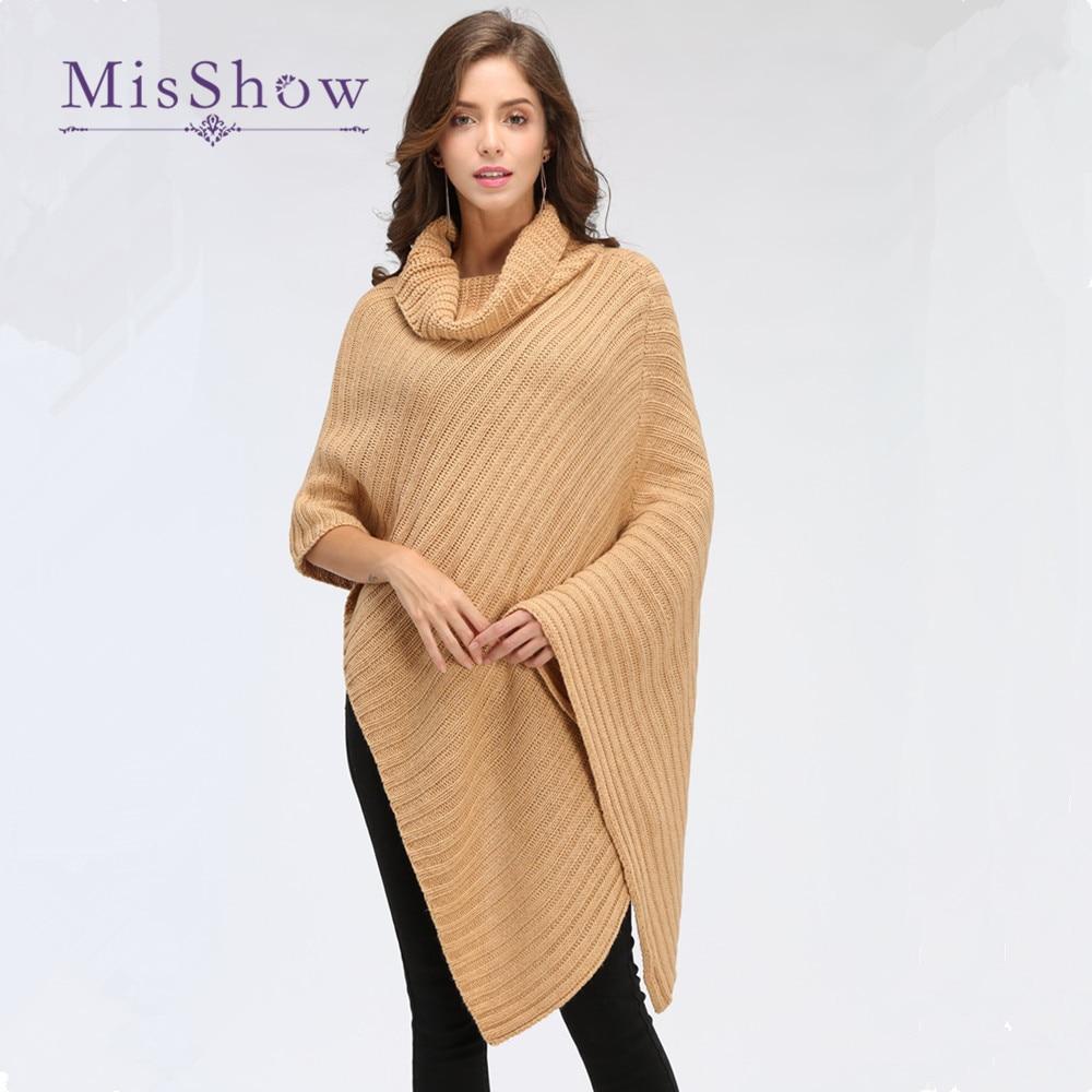 New 2016 Leisure Batwing Cape Cardigan Knitting Coat Lady Poncho Shawl Wraps Sweater #3631 Women's Clothing