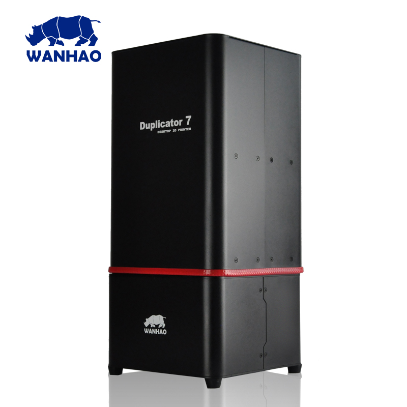 the newest WANHAO D7 1 4 DLP UV resin 3D printer with red spot better appearance
