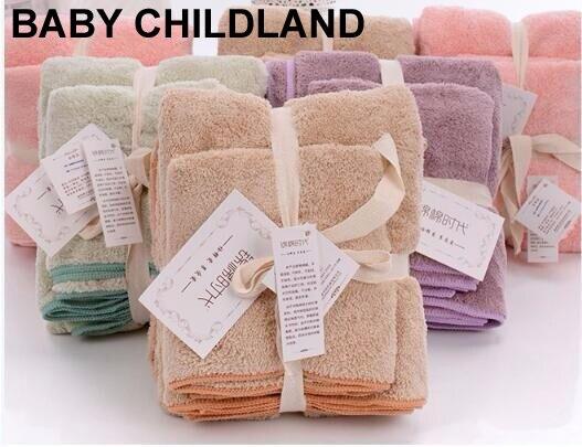 2pcs/set 150*75cm Swaddle Baby Blankets Toddler kids bath towel soft comfortable Bathrobe sofa throw baby sleeping blanket deken