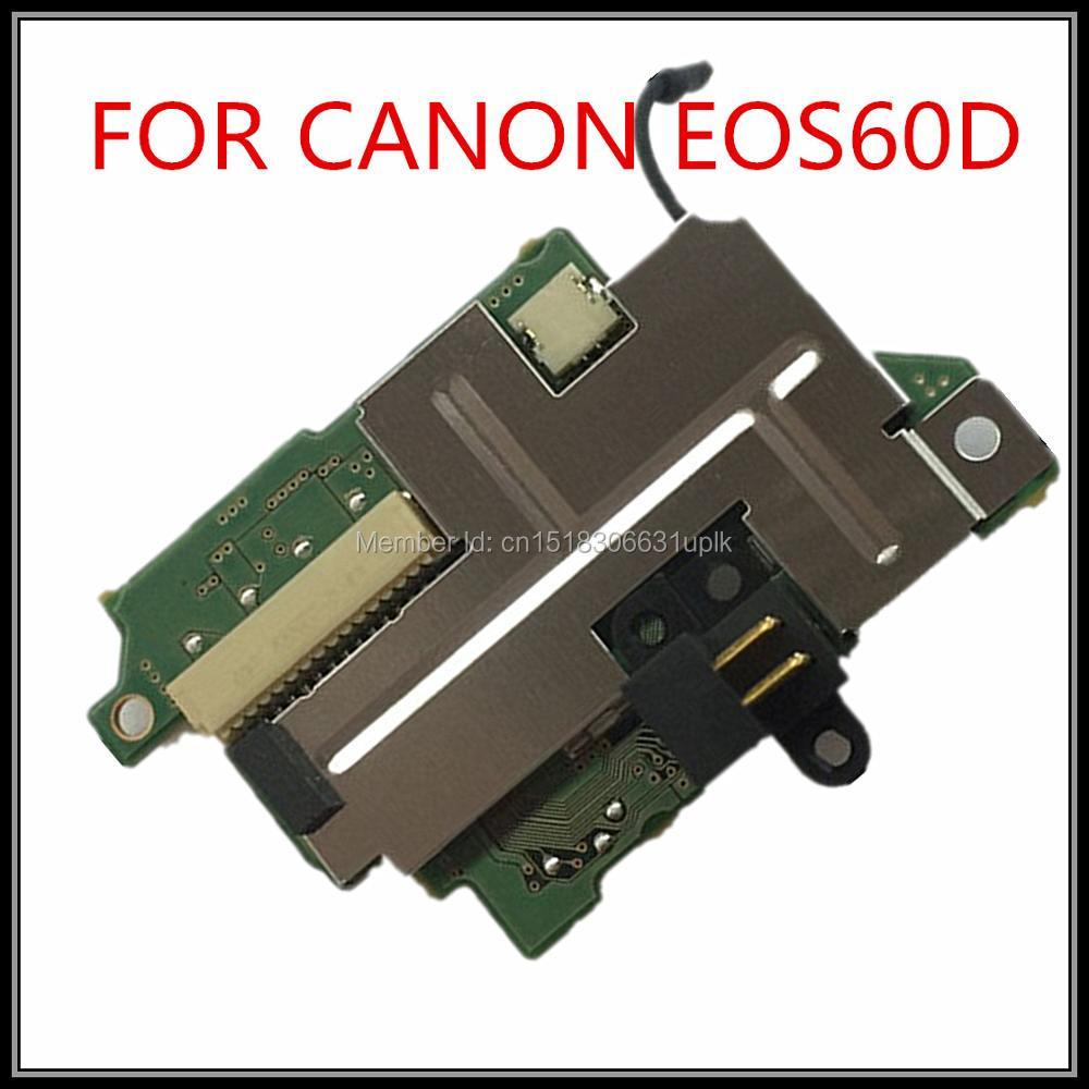 Prix pour 100% new original Caméra Réparation Remplacement 60D powerboard pour canon EOS 60D carte de puissance livraison gratuite