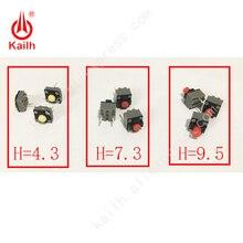 Kailh mikro przełącznik 6*6*4.3/7.3/9.5mm kwadratowy cichy przełącznik ireless mysz przewodowa mysz mikroprzełącznik DIP przełączniki taktowe