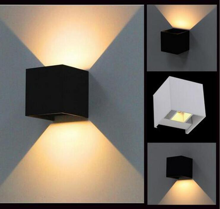 Outdoor Wall Mounted Lights For Sale: Hot Sale 6W Led Wall Lamps LED Outdoor/Indoor Wall Sconce
