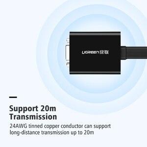 Image 5 - Ugreen Full HD 1080P DVI DVI D 24 + 1 a VGA HDTV Adattatore Convertitore Maschio a VGA Femmina Monitor cavo per il PC Del Computer Portatile HDTV Nero