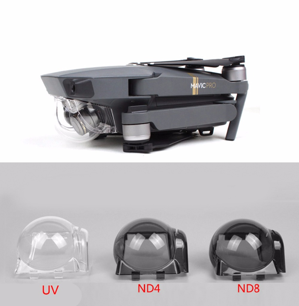 Lens Hood Protective Cover Gimbal Camera UV ND4 ND8 ND16 ND32 Filter Sun Hood Lens Cap