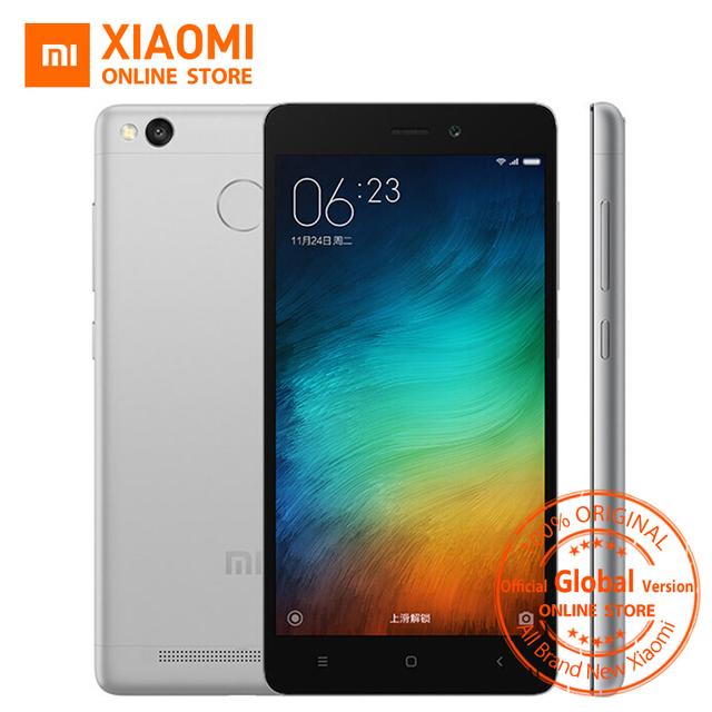 Official Global version Xiaomi Redmi 3S Prime Octa core 3GB Mobile Phone Snapdragon 430 4100mAh 5.0″  32GB  OTA B7 B20 MIUI8.1