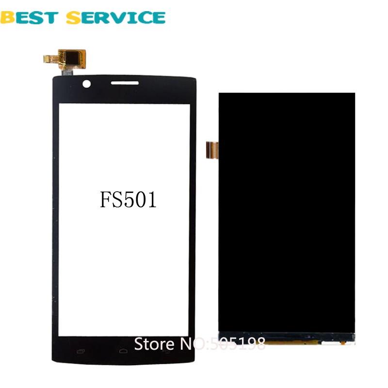 Fly FS501 LCD 4
