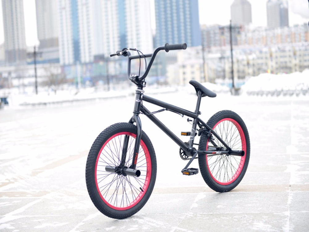 BMX bike steel frame, 20 inch men\'s freestyle show, own street ...