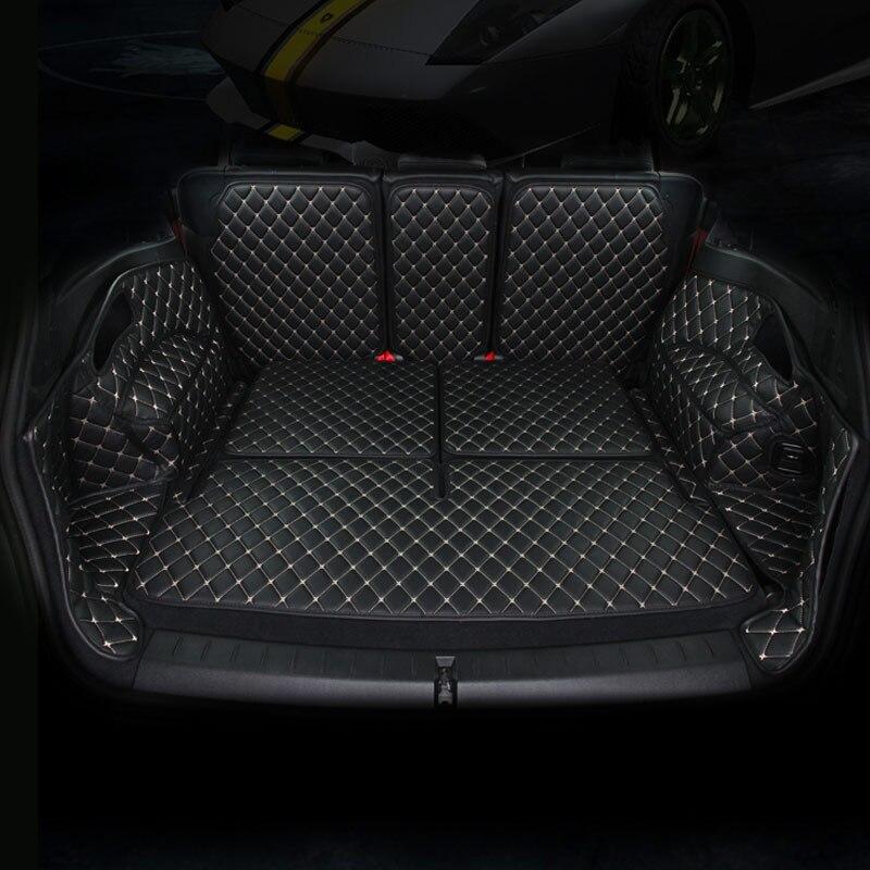 купить car rear trunk mat car boot mat cargo liner for toyota camry rav4 rav 4 corolla highlander reiz mark x crown 2018 2017 2016 2015 по цене 10879.6 рублей