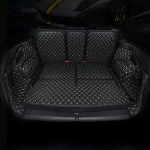 Traseira do carro carro mat tronco bota liner carga mat para toyota camry rav 4 rav4 highlander corolla reiz mark x coroa 2018 2017 2016 2015