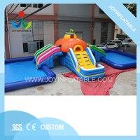 Гигантский надувной аквапарк с бассейном для продажи