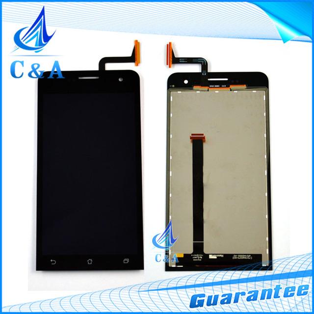 Testado reparação parte lcd de 5 ''polegadas para asus zenfone 5 a500cg A501CG full screen display com digitador touch 1 pcs frete grátis