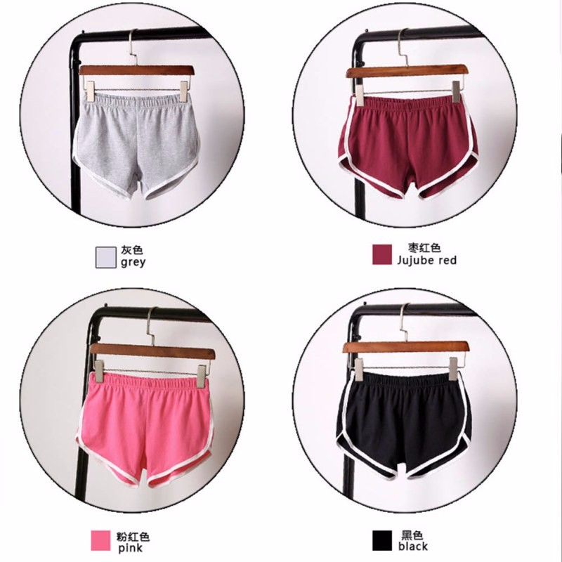 New Summer Shorts Women Casual Shorts Workout Waistband Skinny Short 15