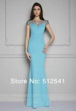 Best Selling Sheer Short Sleeves Evning Dresses Mermaid Trumpet Sweetheart Lace 2014 Formal Gowns yk8R938