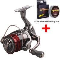 Shiman o Stradic CI4+ 1000 2500 C3000 4000 Spinning Reel molinete carretilhas de pesca bearing 7 ratio 5.0:1 and fishing reel