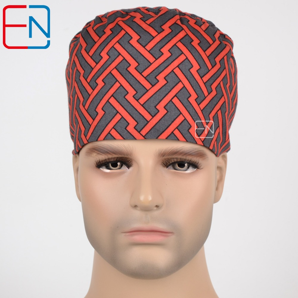 Hennar Surgical Caps For Men And Women With Maze Pattern