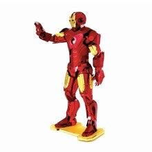 Marvel Iron Man War Machine MJOLNIR CAPTAIN AMERICA'S SHIELD 3D Metal Model Puzzles Present Nano Laser Cut Jigsaw