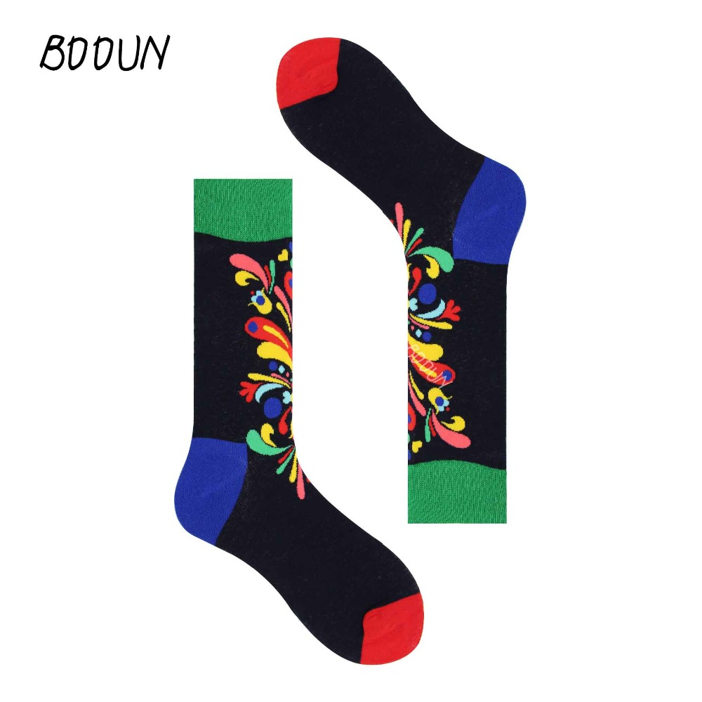 Steady Happy Socks Mens Cotton Stocks Hip Hop Personality Casual Fashion Style Royal Royale Fireworks Elk Xiangyun Ture 100% Guarantee Underwear & Sleepwears