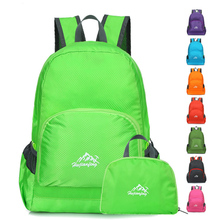 2019 Hot Unisex Nylon Folding Backpack Hiking Camping Bag Ultra Light Outdoor Sport Waterproof Foldable Travel