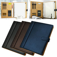 Cobee A4 With Computer Briefcase Cover Storage Bag File Folder Business Fashion Stationery Large Capacity Paper