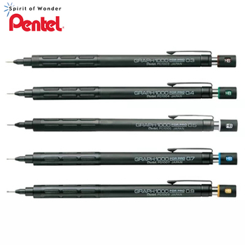 2019 Pentel Graph 1000 For Pro Classical Mechanical Drawing Pencil 0.3mm/0.5mm/0.7mm/0.9mm  - discount item  5% OFF Pens, Pencils & Writing Supplies