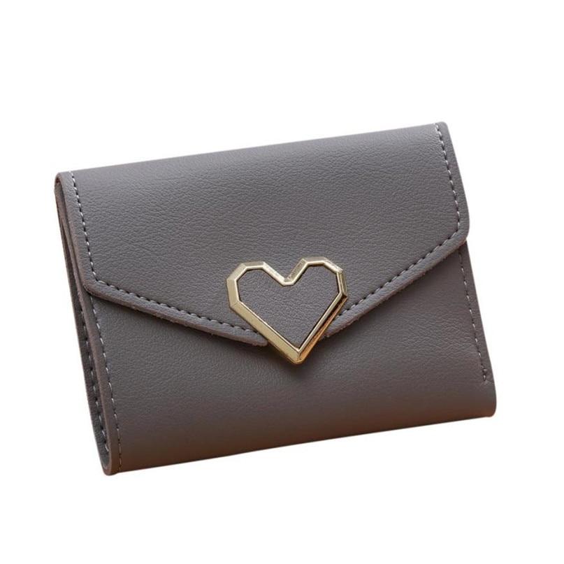 Maison Fabre Fashion Wallets Women 6 Colors Women Simple Short Wallet Hasp Coin Purse Card Holders 2017 Hot DropShipping OB16 4