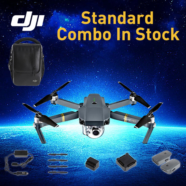 In Stock! DJI Mavic Pro (3pcs Batteries Included) Mavic Pro Combo Kit and Standard Package
