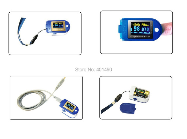 usb data storage wholsale fingertip pulse oximeter AH-50D+plus