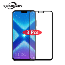 3Pcs Huawei Honor 8X Tempered Glass Original Full Cover Screen Protector for huawei honor 8x Max Protective Film