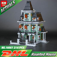 New LEPIN 16007 2141Pcs Monster Fighter The Haunted House Model Set Building Kits Model Minifigure