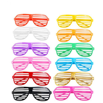 Fashion Shutter Glasses Made Of High Quality Plastic Material For Costume Party And Club Dance