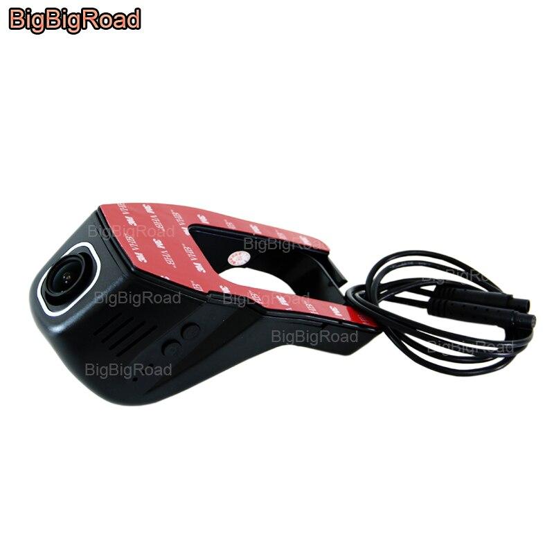 BigBigRoad For toyota highlander Camry Prius Car Wifi DVR Dual Camera Video Recorder Car Parking Camera Car Black Box dashcam