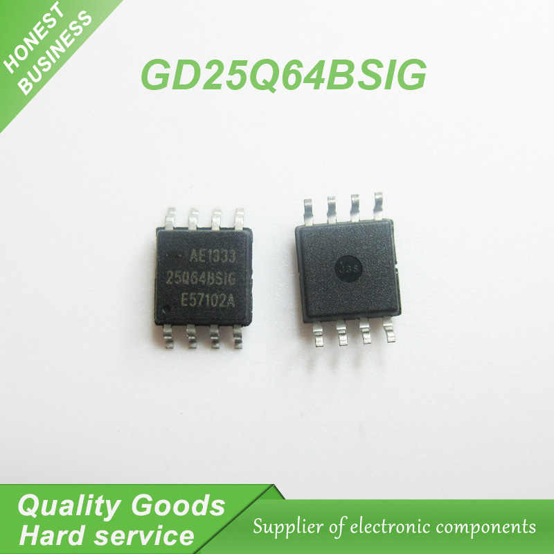Detail Feedback Questions about 5pcs/lot 25Q64BSIG 64M memory chip