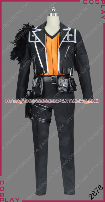 Fate/Apocrypha Great Holy Grail War Master of Saber of Red Kairi Sisigou Outfit Cosplay Costume S002