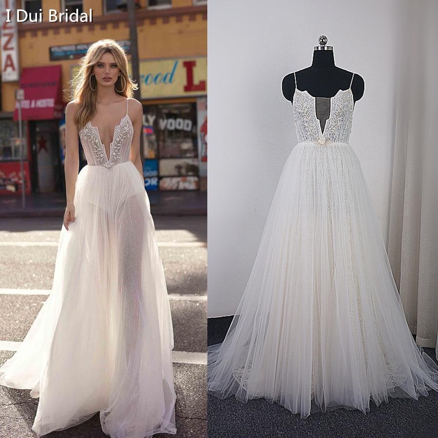 Aliexpress.com : Buy Tulle Boho Wedding Dress With Beaded