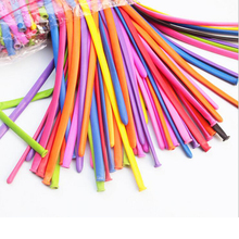 Assorted-Color Balloons Weeding Long 100pcs/Lot Party-Supplies WYQ