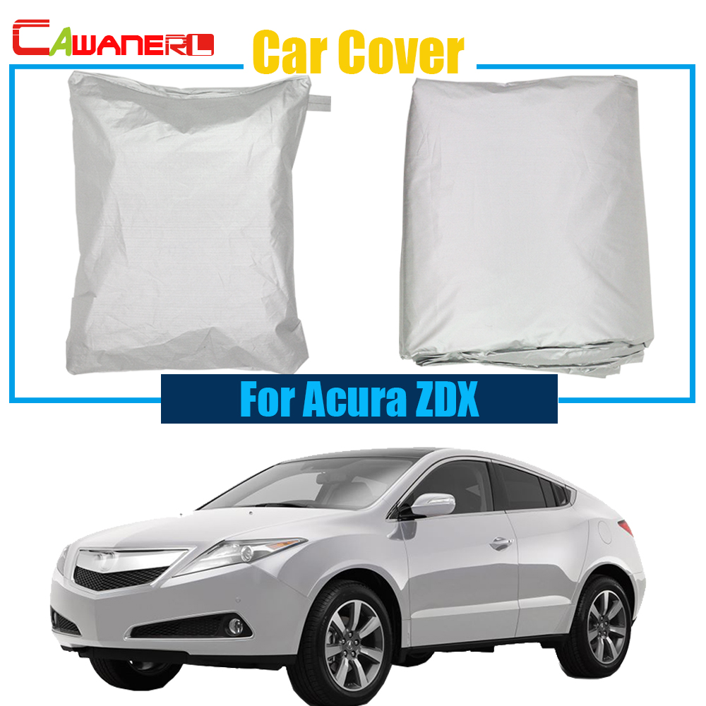 Cawanerl Full Car Cover Anti UV Sun Shade Rain Snow