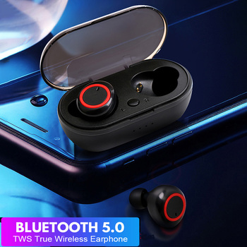 Teamyo TWS Wireless Earbuds Headphone Waterproof Stereo Bluetooth Earphone Headset Sport Gaming Earphone For Samsung Iphone