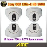 Cctv Camera 700tvl Home Security Camera 960H Sony CCD IR Array LED IR Indoor CCTV Dome