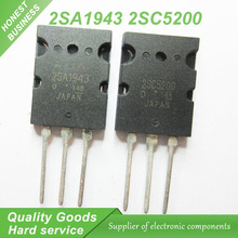 20PCS A1943 C5200 2SA1943 2SC5200  audio pair tube  10PCS* A1943+10PCS* C5200 TO-3PL  new original