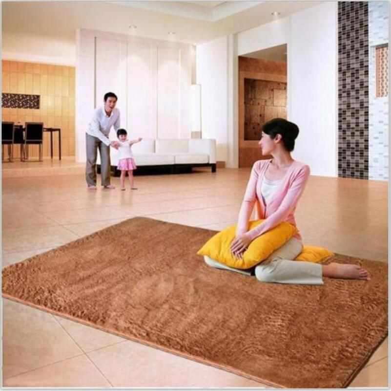 Home textile living room carpet big size mat long hair bedroom carpet tea table carpet bedroom mat 80x120cm carpet morden brief