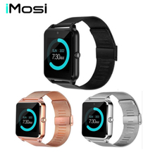 Imosi Smart Watch Z60 Men Women Bluetooth Wrist Smartwatch Support SIM/TF Card Wristwatch For Apple Android Phone PK DZ09