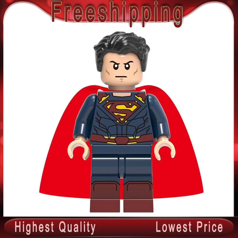 Building Blocks Super Heroes Superman Aquaman Ocean Master Mera Reign Model Collection Toys For Children XH839
