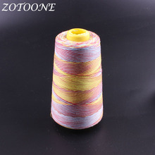 ZOTOONE Rainbow Color Sewing Thread Hand Quilting Embroidery Sewing Threads Hand Stitching Polyester Threads DIY Sewing Tool E death threads
