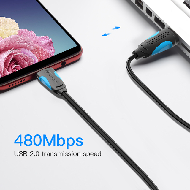 Vention Micro USB Cable Fast Charging Wire for Android Mobile Phone Data Sync Charger Cable 3M 2M 1M For Samsung HTC Xiaomi Sony 3
