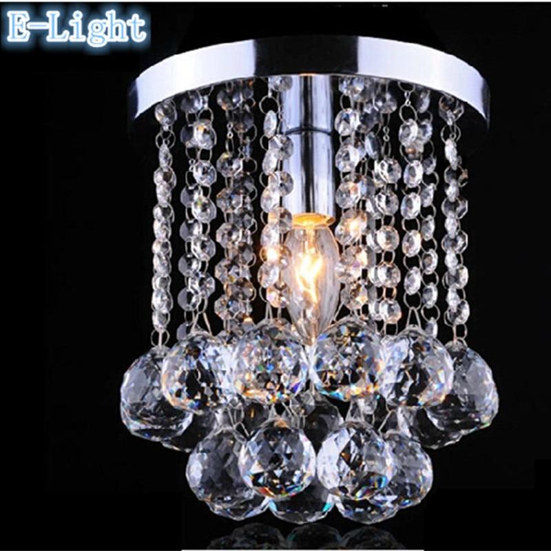 Dunelm Crystal Ceiling Lights : E led crystal entrance ceiling lights aisle hallway