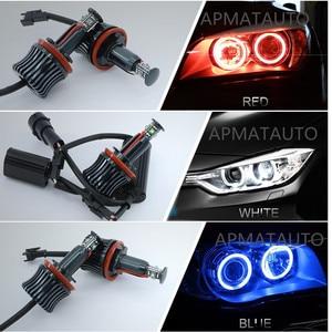 Image 5 - 2x H8 ข้อผิดพลาดฟรี 40 W 2400lm XPE ชิป LED Angel Eye Marker หลอดไฟสำหรับ BMW E60 E61 E70 e71 E90 E92 E93 X5 X6 Z4 M3