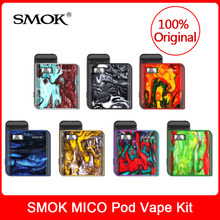 Original SMOK MICO Kit with built in 700mAh Battery +Mesh/Regular Cartridge Coil E-Cigarette mico po
